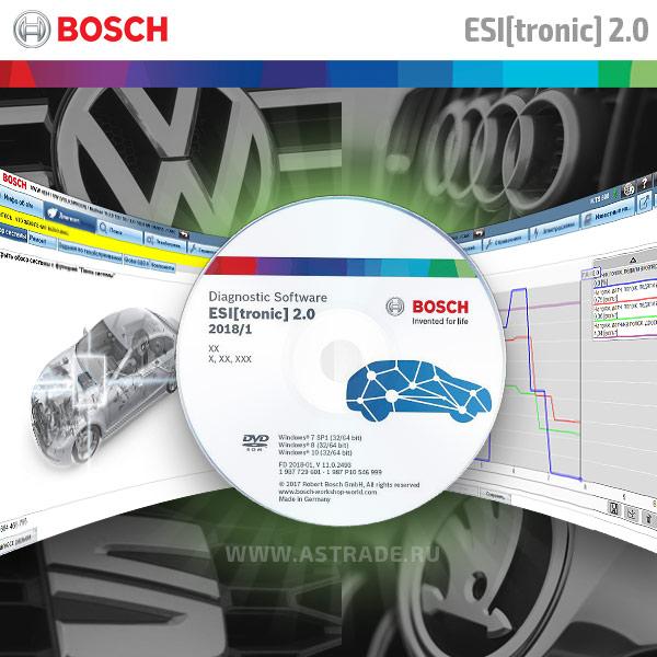 Bosch ESI[tronic]. Примеры работы с VW.