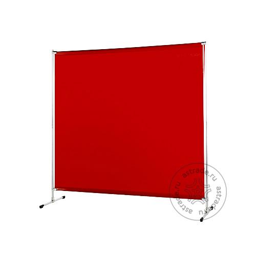 Защитный экран с рамой и ножками 2 x 2 м