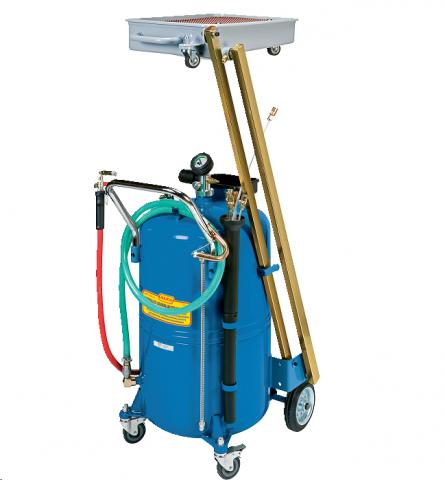 ALFA Емкость для слива/откачки масла, 155 л