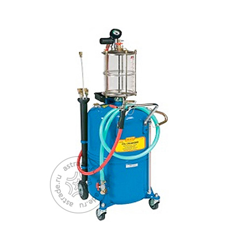 ALFA Емкость для слива и откачки масла 90 л