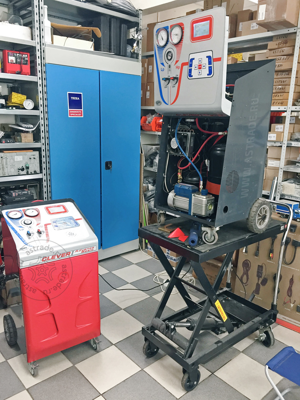 "Установка Spin Clever на обслуживании в сервисном центре ГК ""Технологии Автосервиса"""