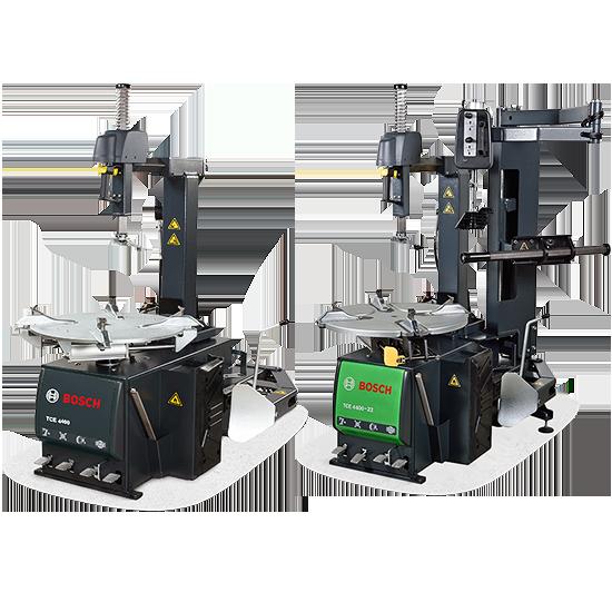 Автоматические шиномонтажные стенды Bosch с усиленной геометрией (4400, 4405)