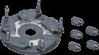 Фланец для колес без центрального отверстия Bosch 105904
