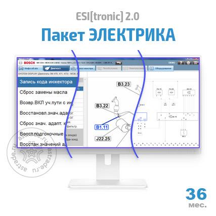 """Пакет """"ЭЛЕКТРИКА"""" (SD, SIS, P, TSB): подписка на 36 мес."""