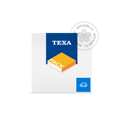 Контракт TEXA IDC4/IDC5 CAR, 1 год