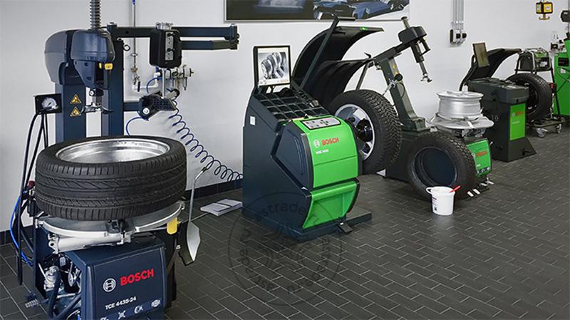 Bosch TCE 4435-24 с третьей рукой TCE330, демонстрация оборудования Bosch