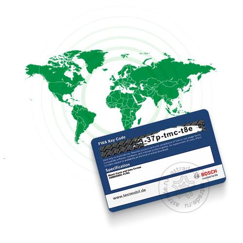 База данных автомобилей всех регионов для Bosch FWA