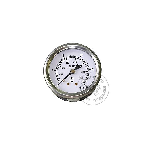 Манометр высокого давления Robinair 1601030, для серии PRO, 690PRO, D.63, 0/25 Бар