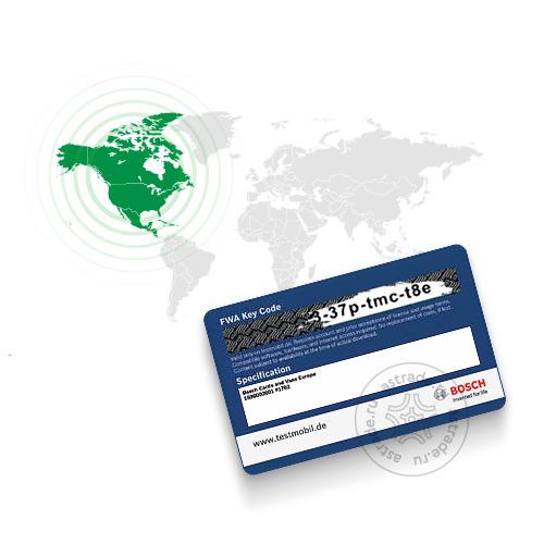 База данных автомобилей «Северная Америка» для Bosch FWA