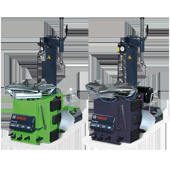 Полуавтоматические шиномонтажные стенды Bosch (4220, 4225)