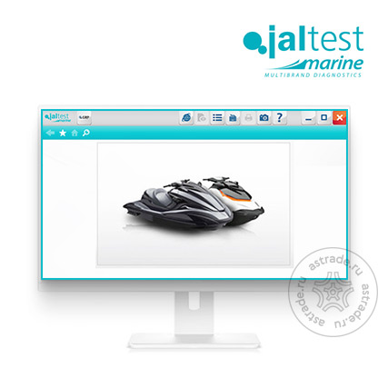 Jaltest Marine Software для гидроциклов
