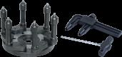 6-ти точечный фланец Bosch 105907