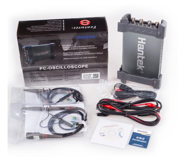 USB осциллограф Hantek DSO-6204BD
