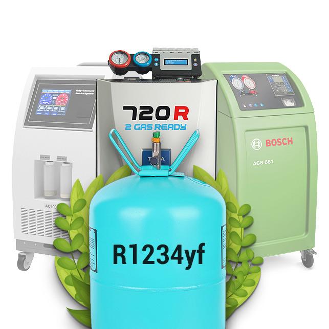 Сравнение установок для заправки кондиционеров для нового типа фреона R1234yf