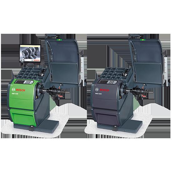 Автоматизированные балансировочные станки WBE (4230, 4240, 4245, 4440, 4445)