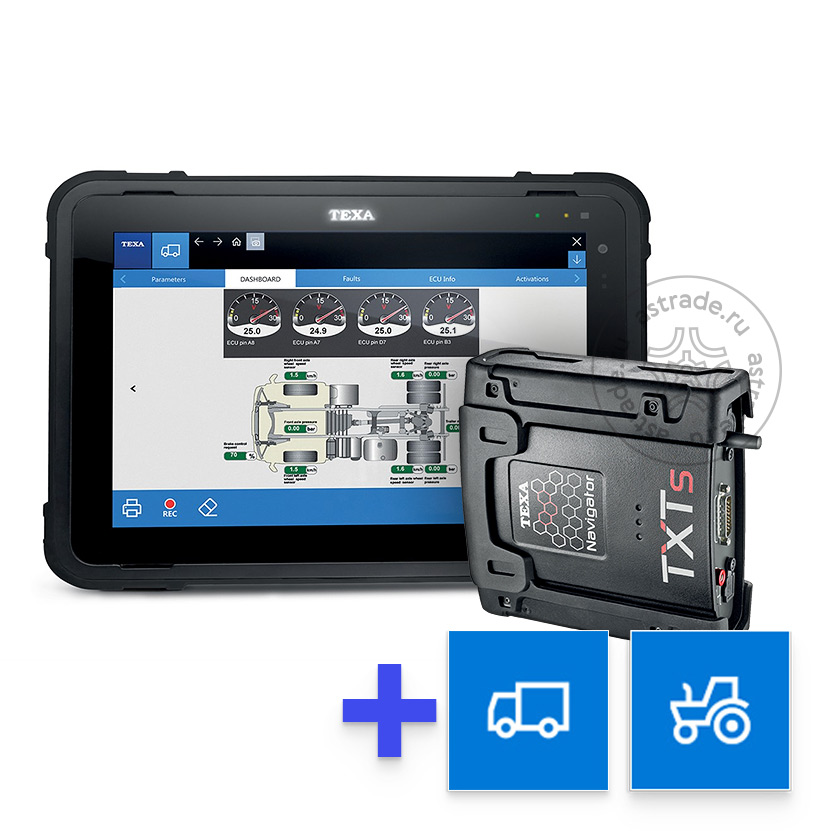 Комплект Axone NEMO + Navigator TXTs + IDC5Truck + IDC5OHW