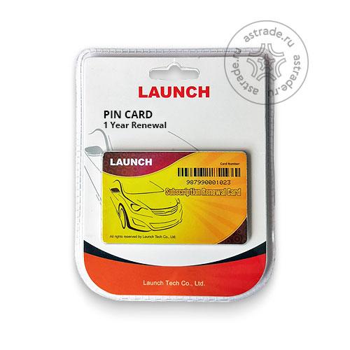 Launch PIN CARD [Легковые & Грузовые] - 1 год продления прописки