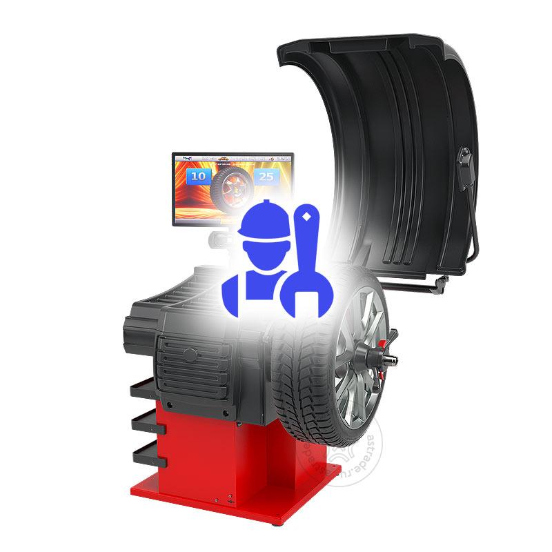 Монтаж/калибровка балансировочного станка с диагностическими функциями