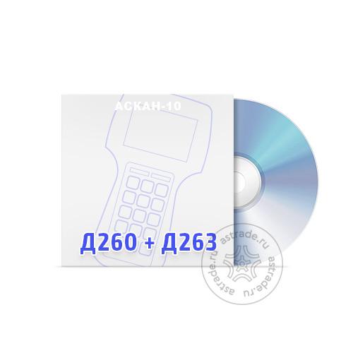 Программные модули Д260 + Д263