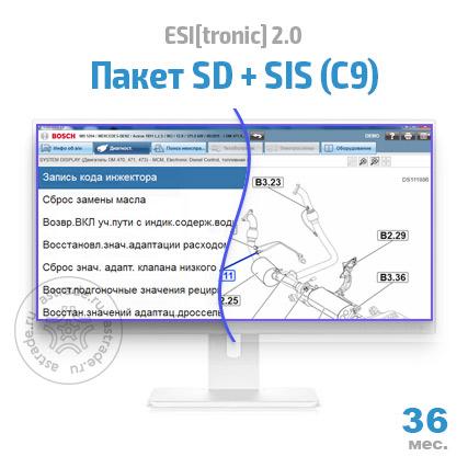 Пакет SD + SIS (С9): подписка на 36 мес.