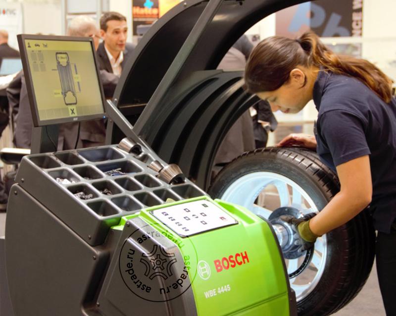 Bosch WBE 4445 на выставке