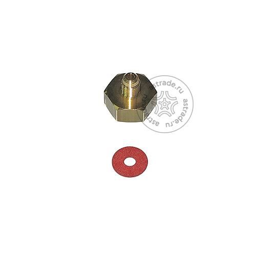 """Адаптер соединительный Robinair 5117228 / SP00100080, для баллона, переход с 1/2"""" на 1/4"""""""