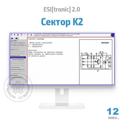 Сектор K2: подписка на 12 мес.