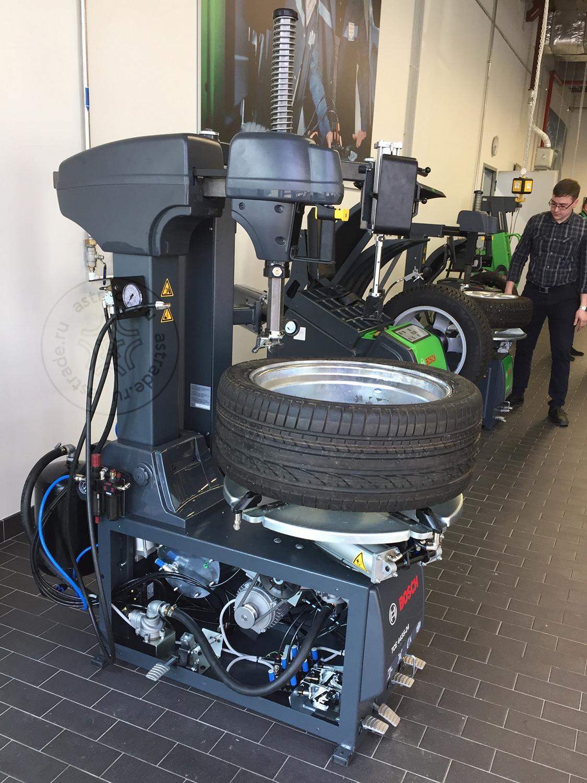 Испытания стенда TCE 4435-24 на дилер-саммите Bosch