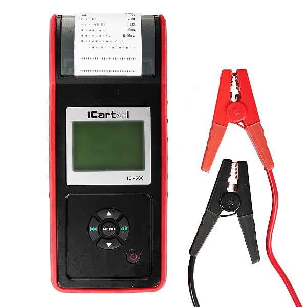 Тестер АКБ iCarTool IC-500
