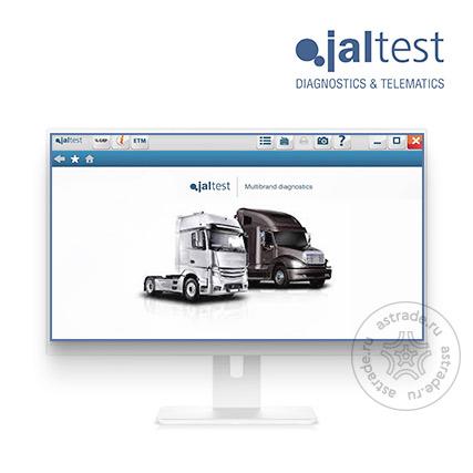 Программное обеспечение Jaltest Software TRUCK 293100 для  грузовиков с 1 годом обновления для Link, Link Air , активация