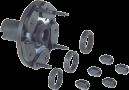 3-, 4-, 5-точетный фланец Bosch 654043