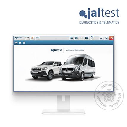 Программное обеспечение Jaltest Software Коммерческий Транспорт LCV 293600 для Link, Link Air, активация