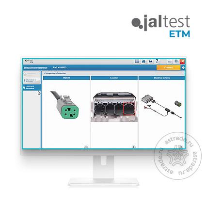 Программный модуль Jaltest ETM, 29714, для ком.транспорта для Link, модуль ПО, лицензия, 3 мес