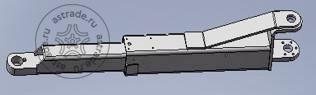 Лапа подхвата удлиненная задняя (855-1365 мм) для TLT-235/240