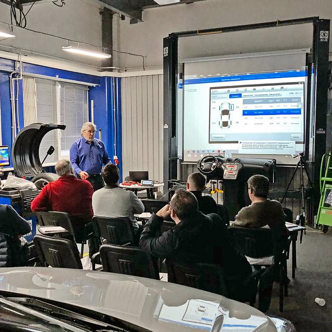 Тренинг: системы контроля давления в шинах (TPMS)