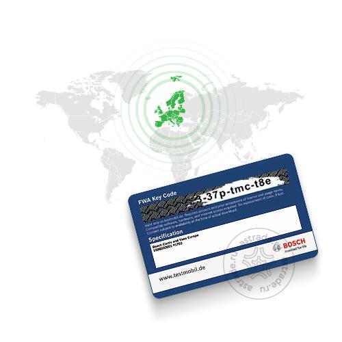 База данных автомобилей «Европа» для Bosch FWA