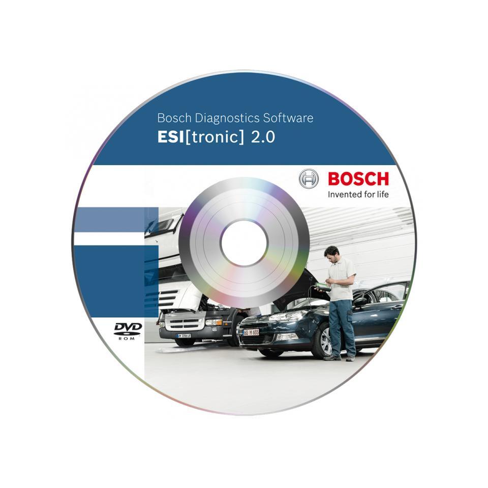 Комплект информационных баз Bosch-Дизель