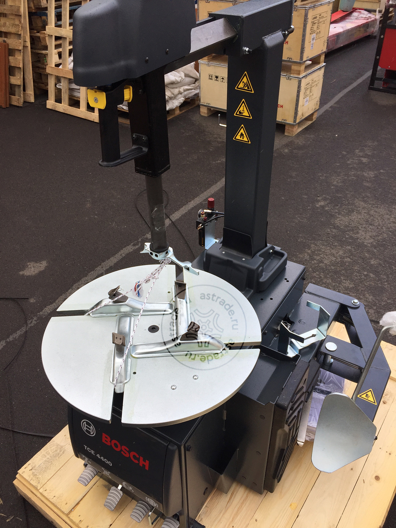 Отгрузка станка Bosch TCE 4400