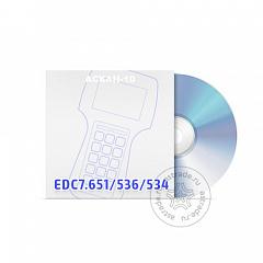 Программные модули EDC7.651/536 + EDC7.534