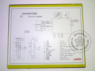 Ordinary double column singlephase electrical wiring icon paste
