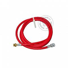 Шланг сервисный Robinair 5117474, для ACM 3000, серии PRO, 244 см., красный