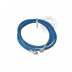 Шланг сервисный Robinair 5117475, для ACM 3000, серии PRO, 244 см., синий